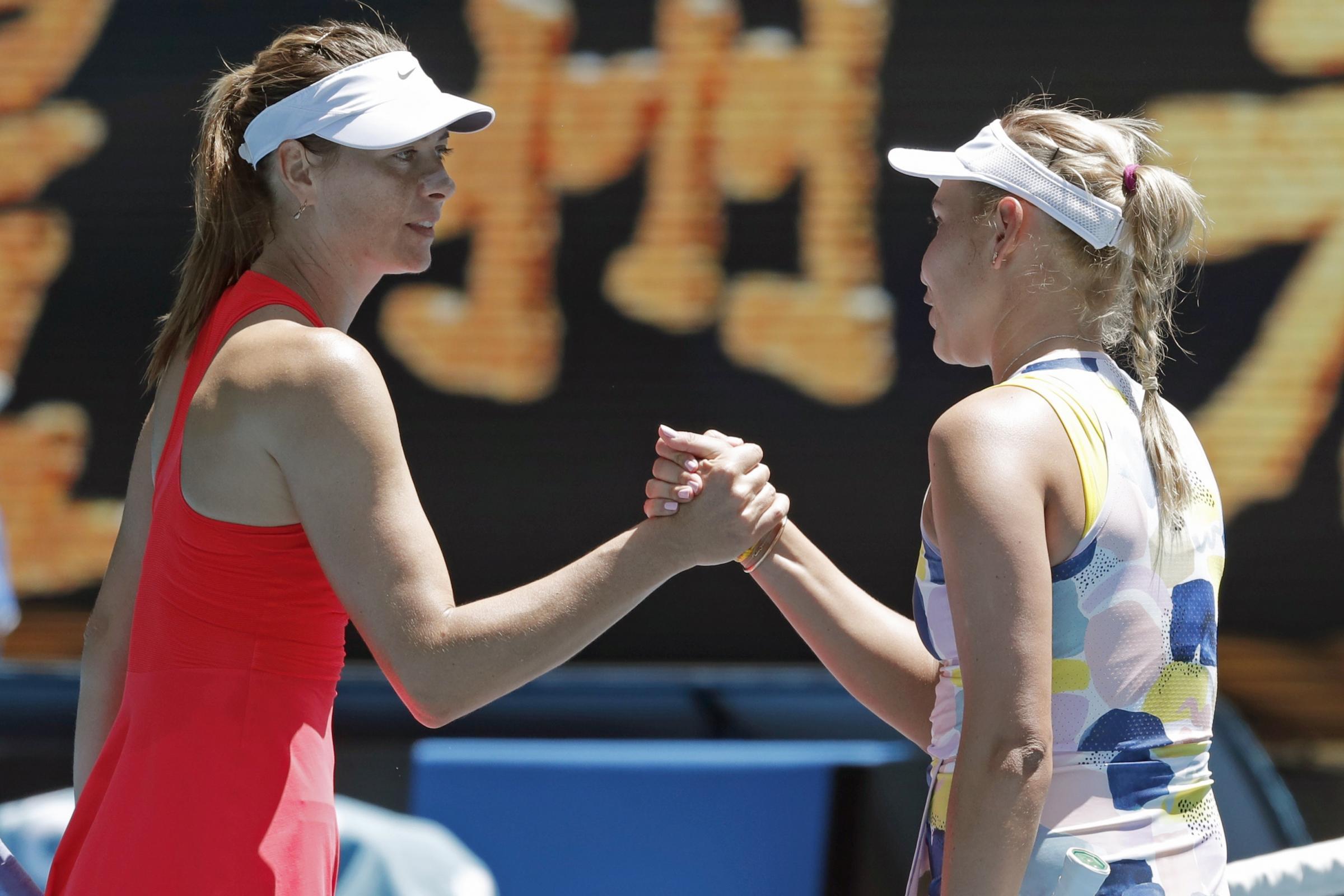 Eliminação precoce no Australian Open impõe incertezas sobre o futuro de Maria Sharapova