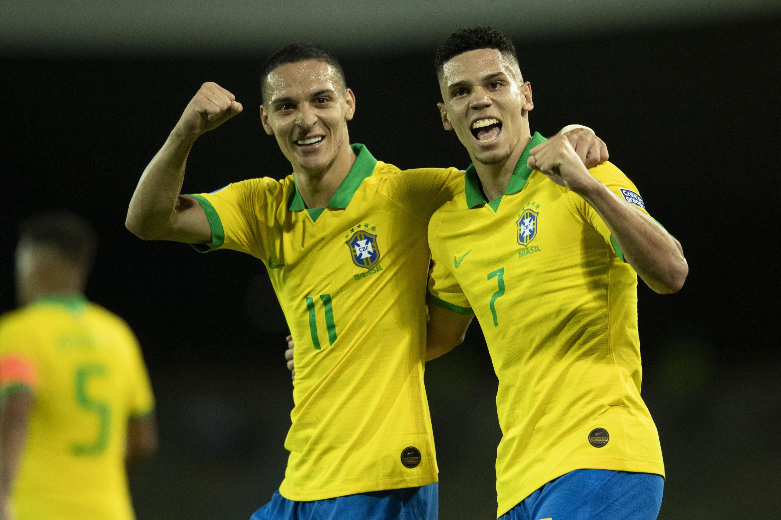Brasil estreia com vitória sobre o Peru no pré-olímpico masculino de futebol