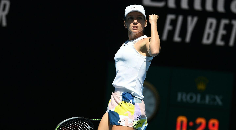 Halep atropela Kontaveit e garante vaga na semifinal do Australian Open