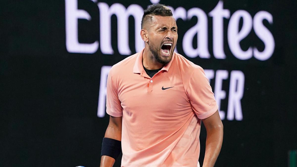 Kyrgios vence longa batalha contra Khachanov e desafia Nadal no Australian Open
