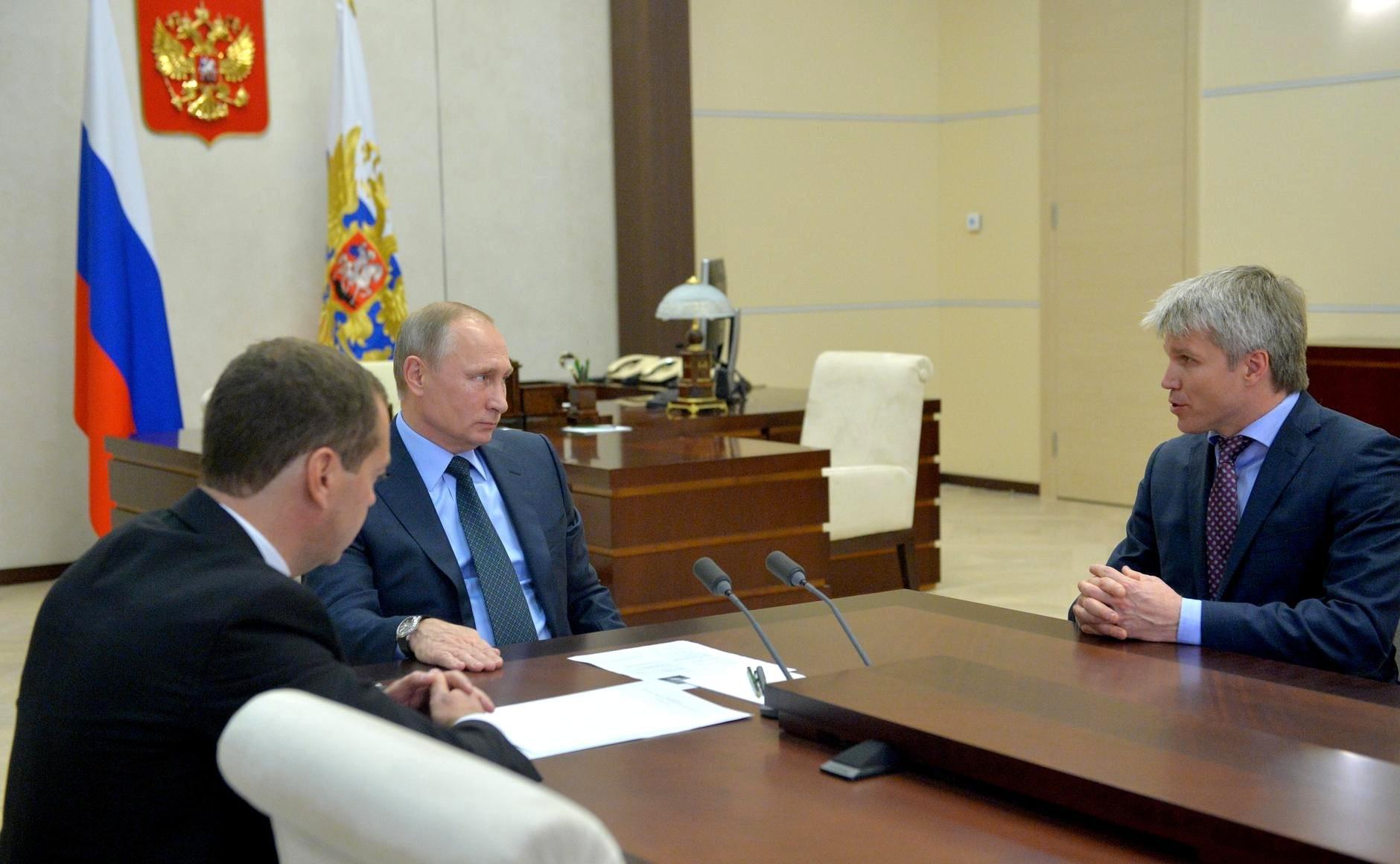 Pavel Kolobkov, ministro do Esporte da Rússia, renuncia