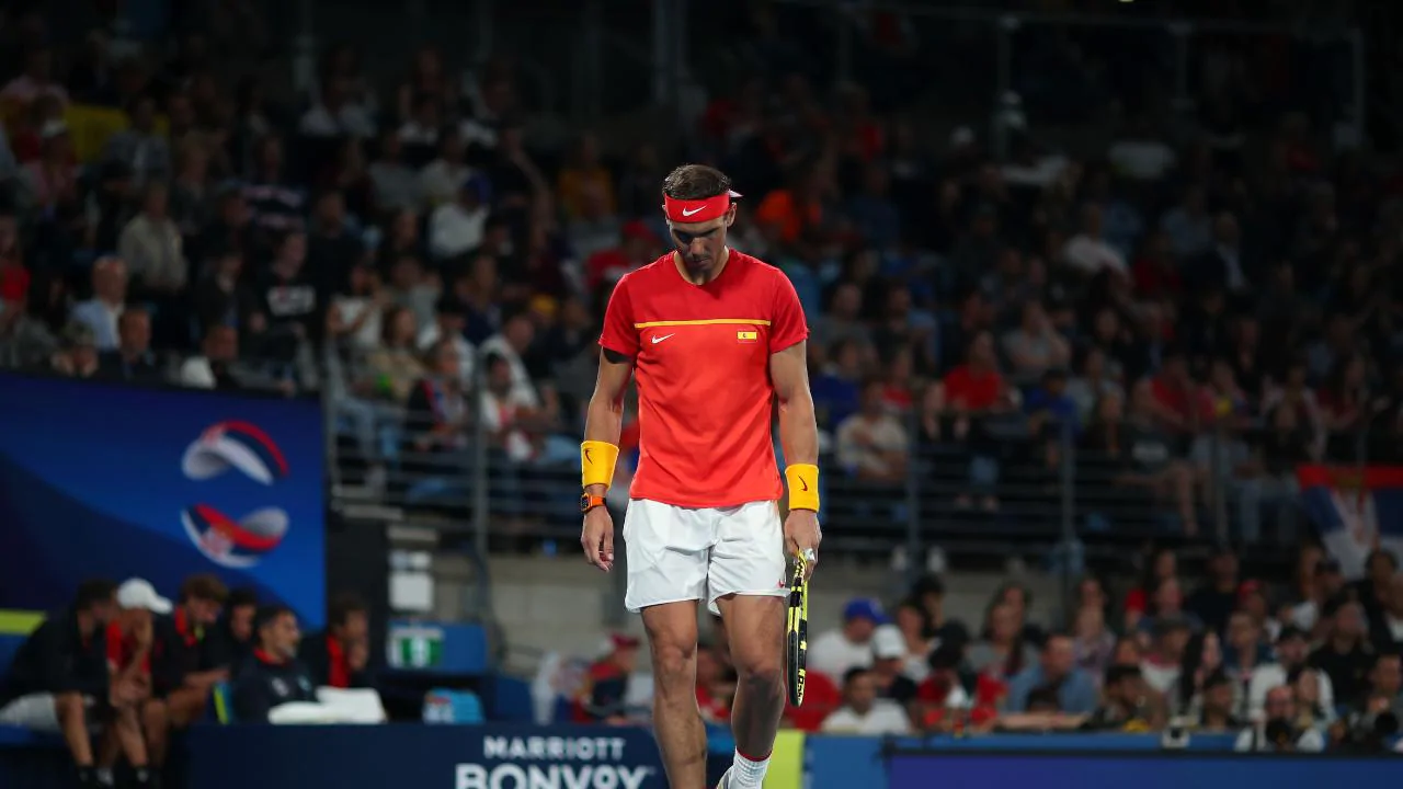 Rafael Nadal não jogará a decisão nas duplas na ATP Cup