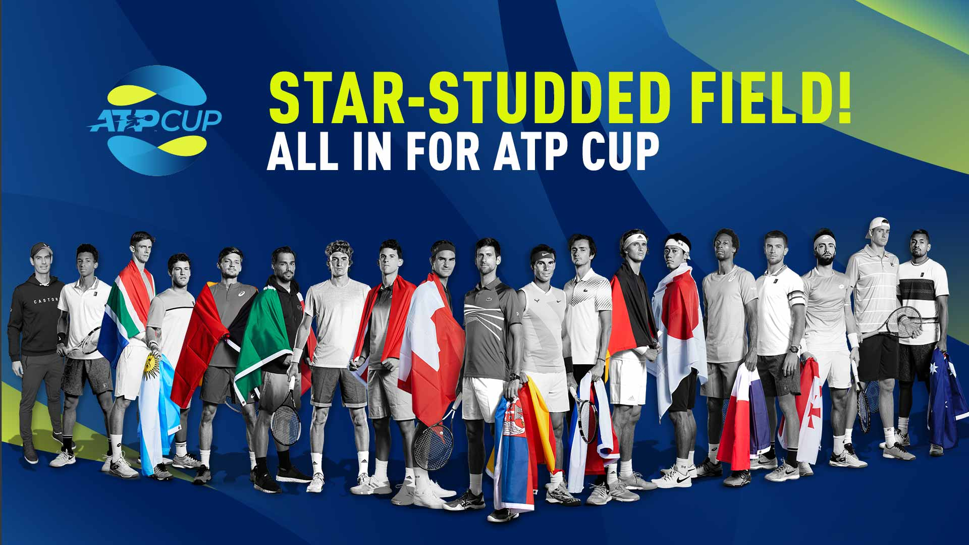ATP Cup: saiba todo sobre a nova competição masculina de tênis profissional