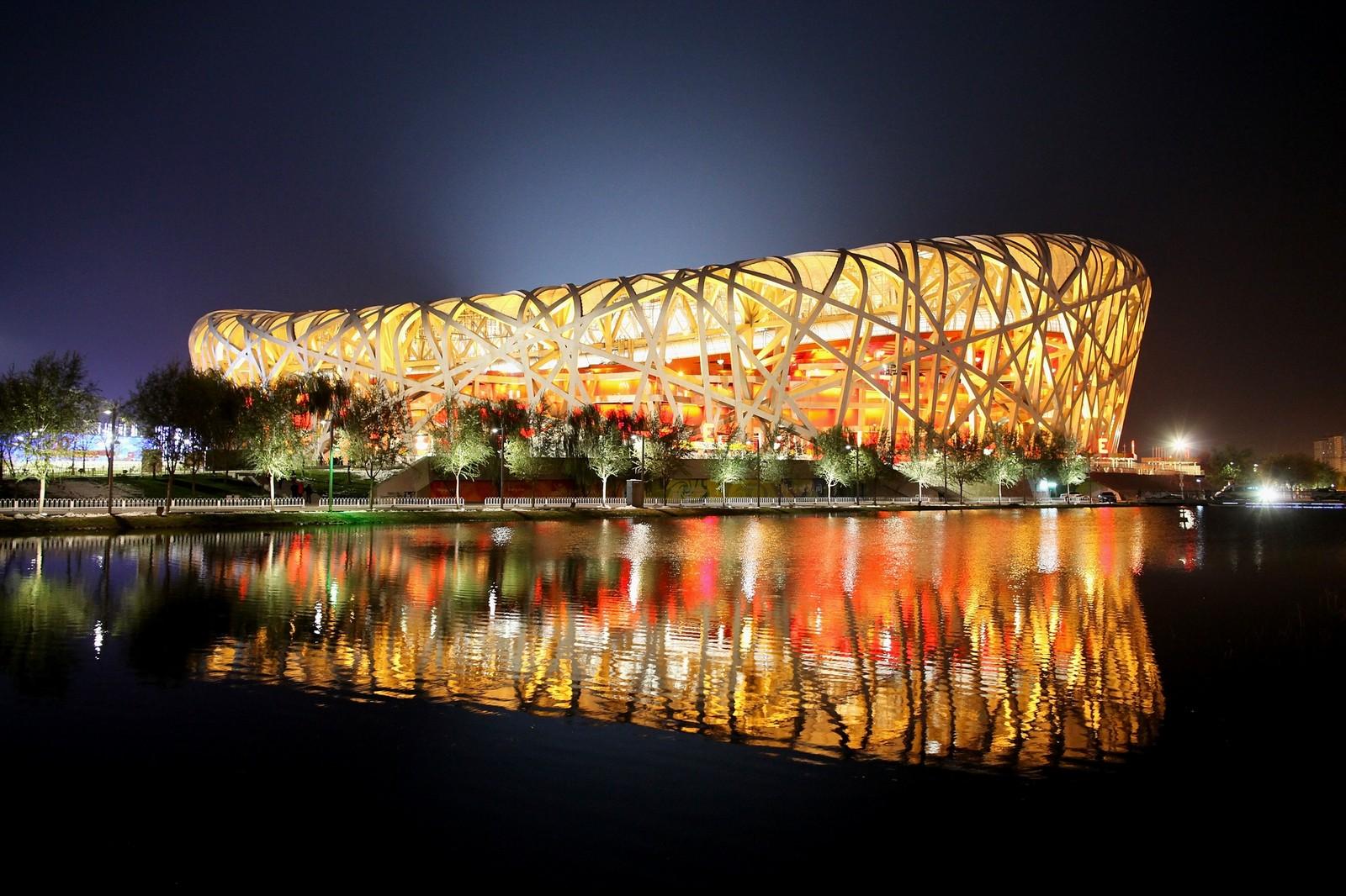 Estádio Ninho de Pássaro é fechado por causa da epidemia de coronavírus na China