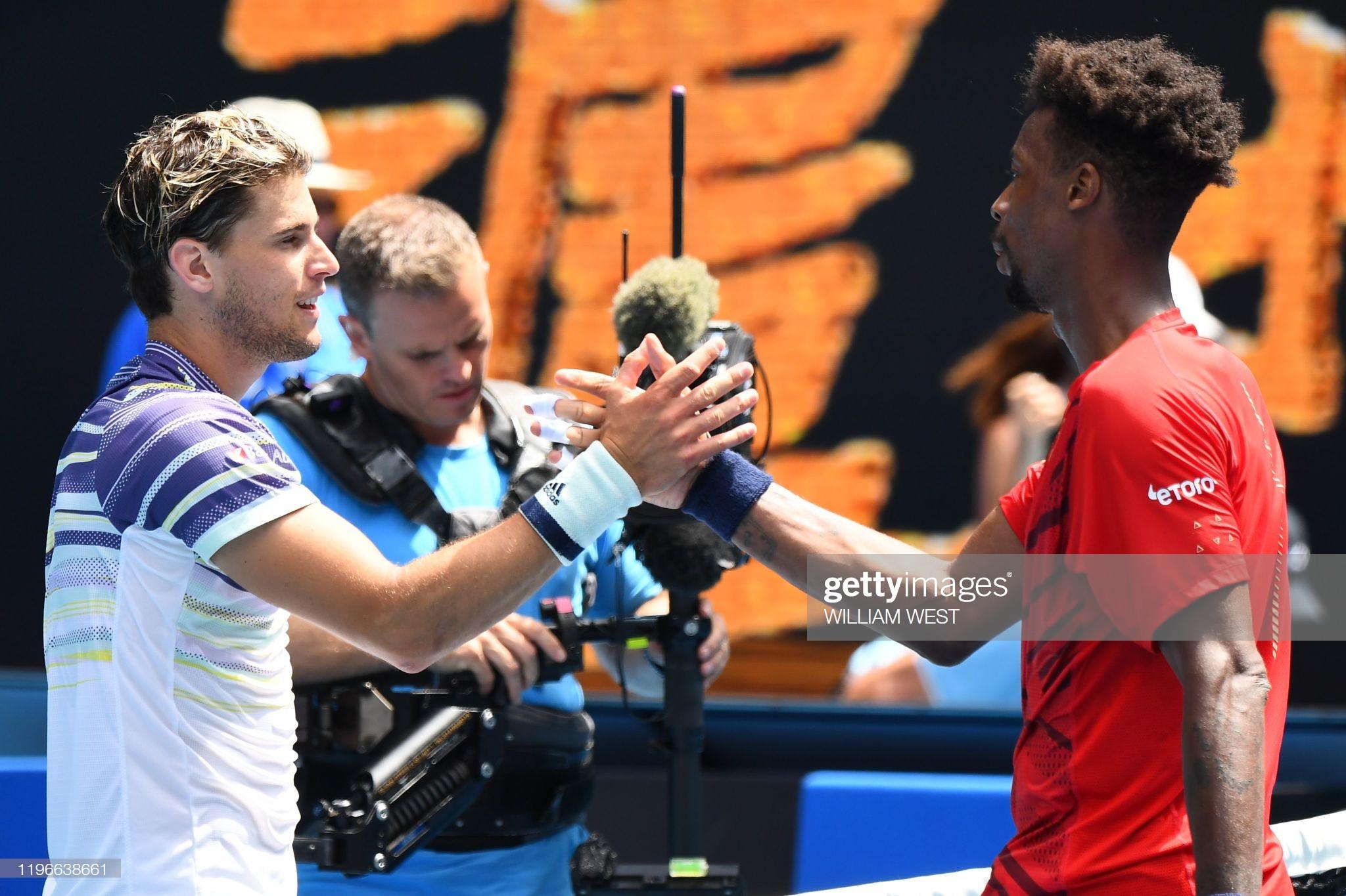 Thiem arrasa Monfils e confirma vaga nas quartas de final do Australian Open