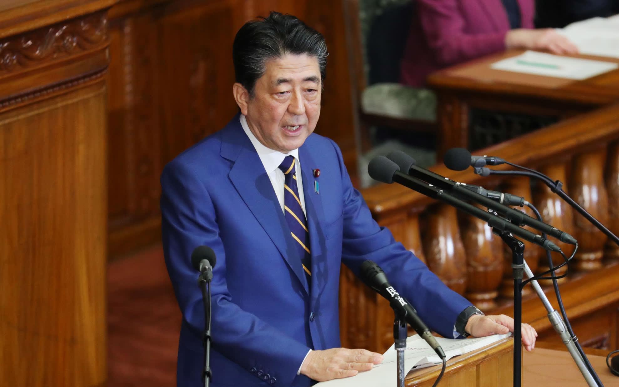 Shinzo Abe, premiê do Japão, destaca a importância da Olimpíada de Tóquio 2020