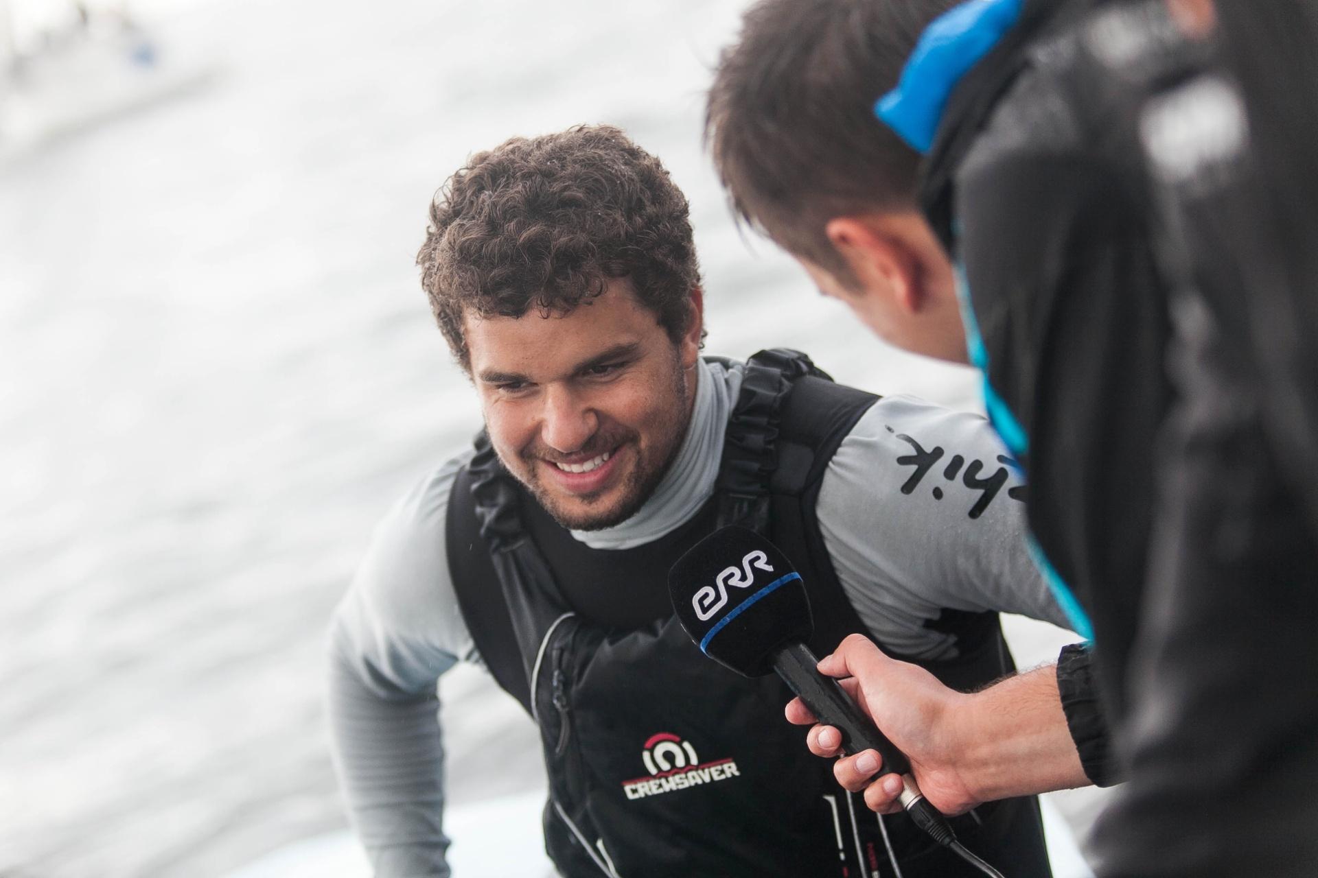 Campeão mundial e líder mundial da classe Finn, velejador Jorge Zarif é flagrado em antidoping