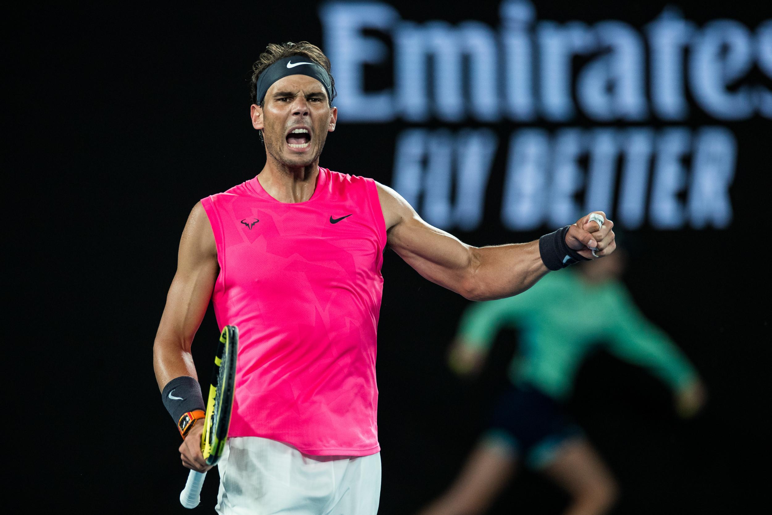 Rafael Nadal bate Nick Kyrgios e avança no Australian Open