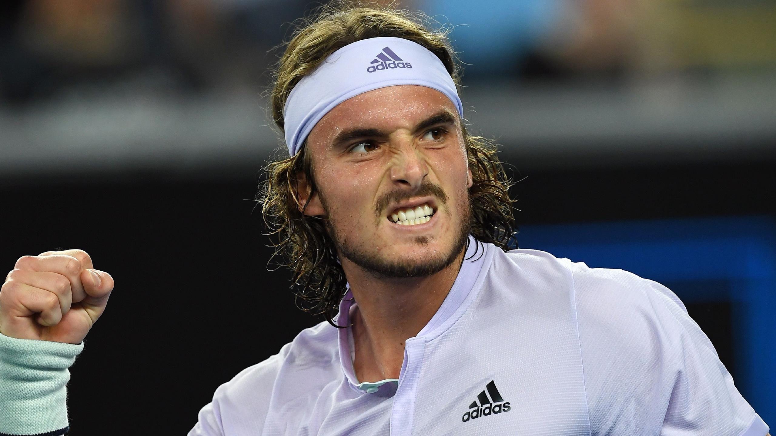Em jogo complicado, Stefanos Tsitsipas estreia com vitória no ATP de Roterdã