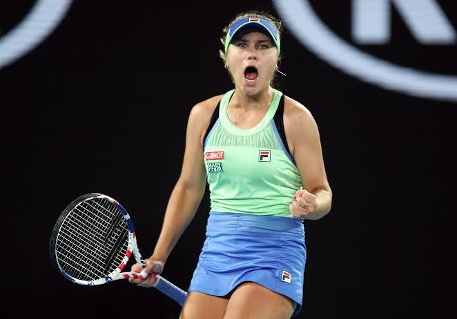 Sofia Kenin vira sobre Muguruza e conquista o Australian Open