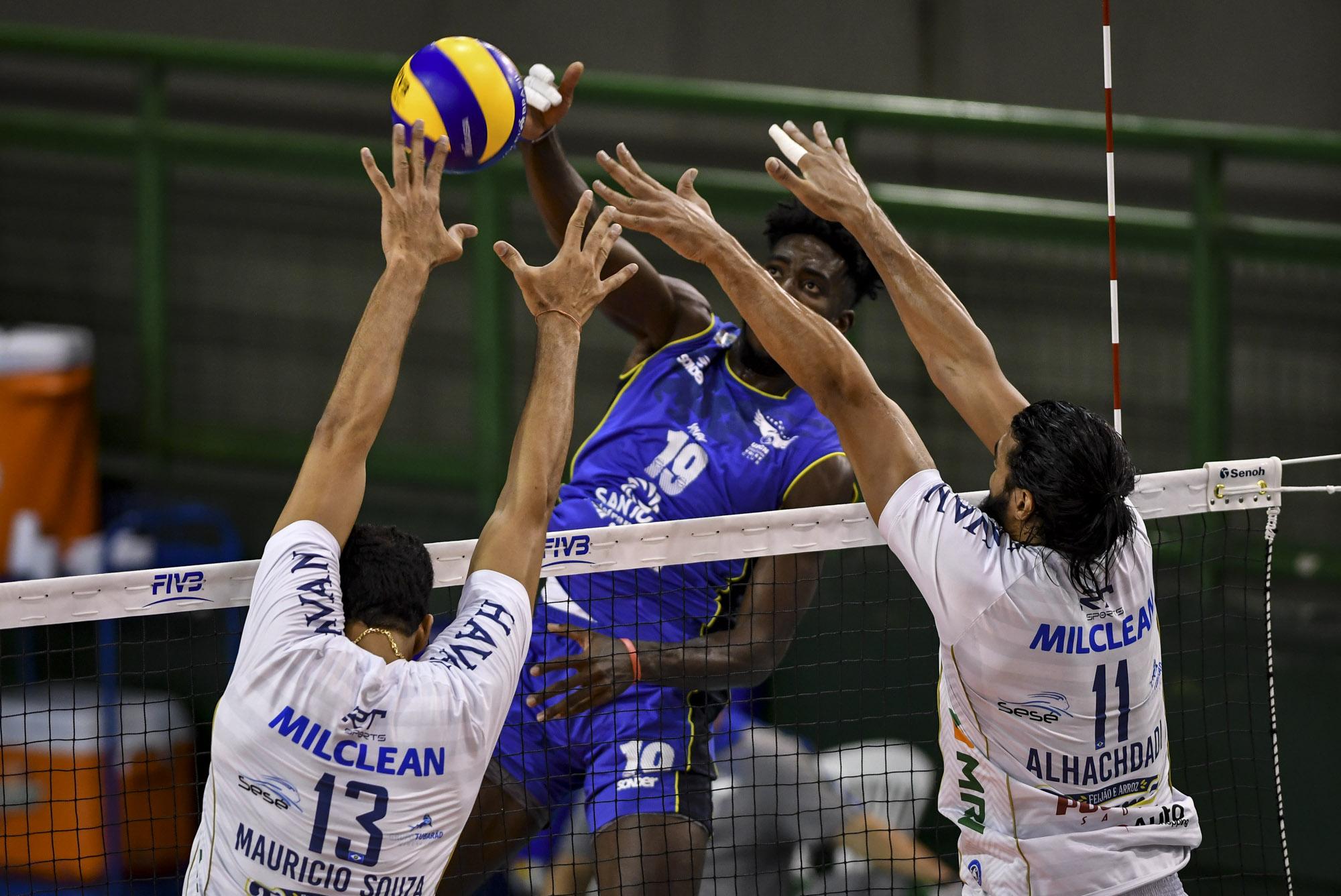 EMS Taubaté Funvic é superado e encara o Sada Cruzeiro na semifinal do sul-americano de clubes