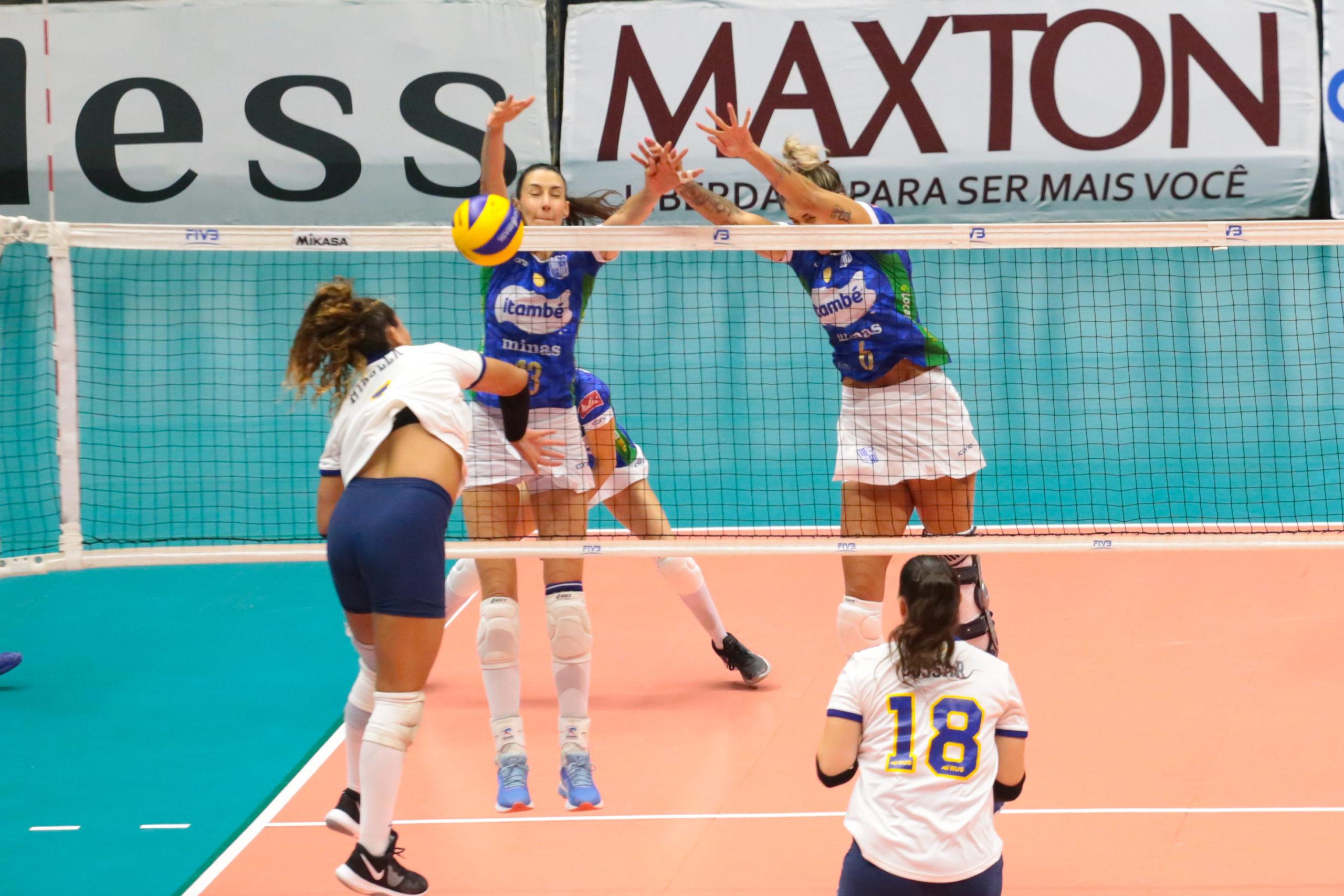 Itambé/Minas assegura a segunda vitória no Sul-americano de Clubes