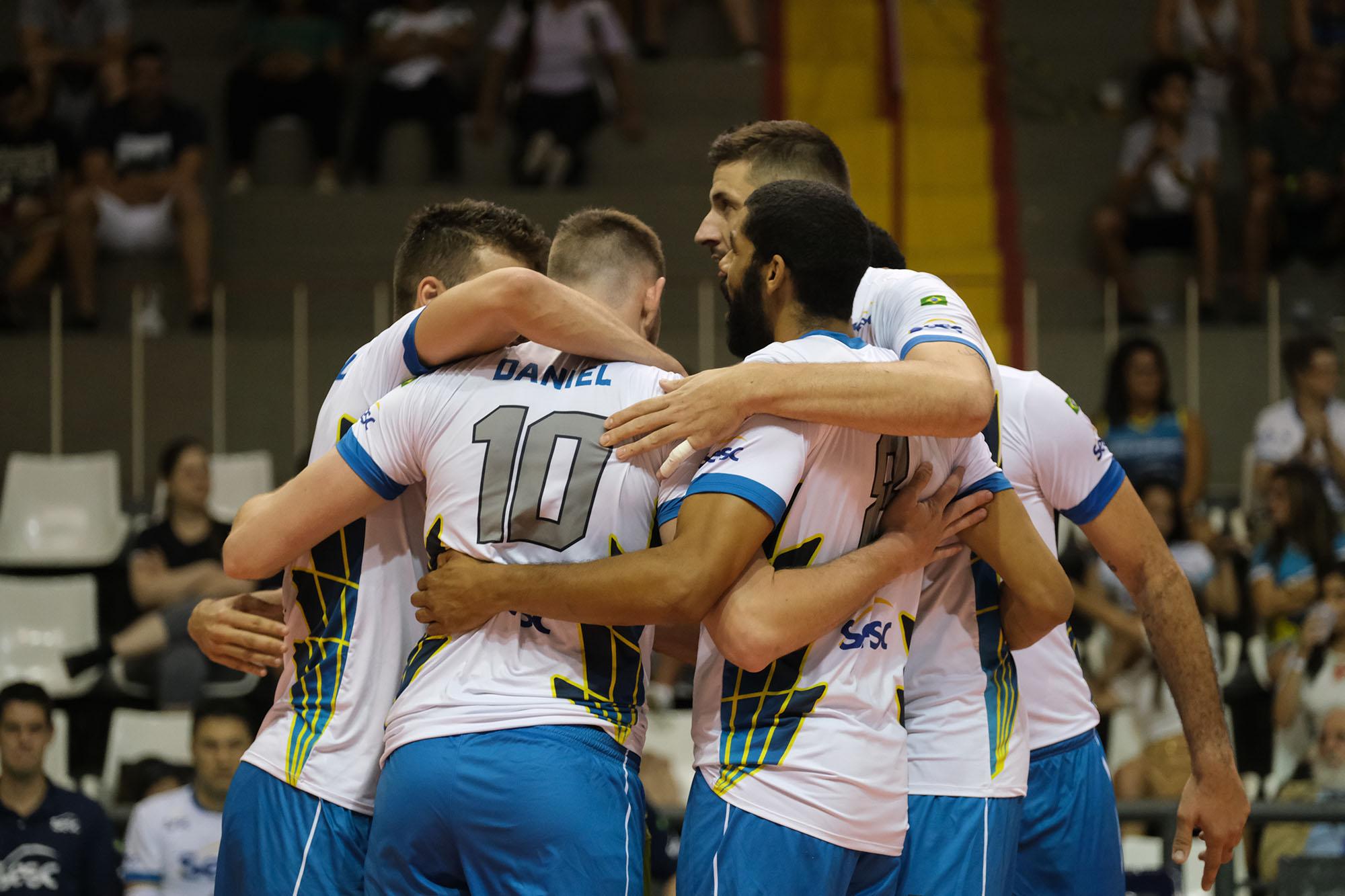 Sesc RJ recebe o líder Sada Cruzeiro nesta quinta-feira