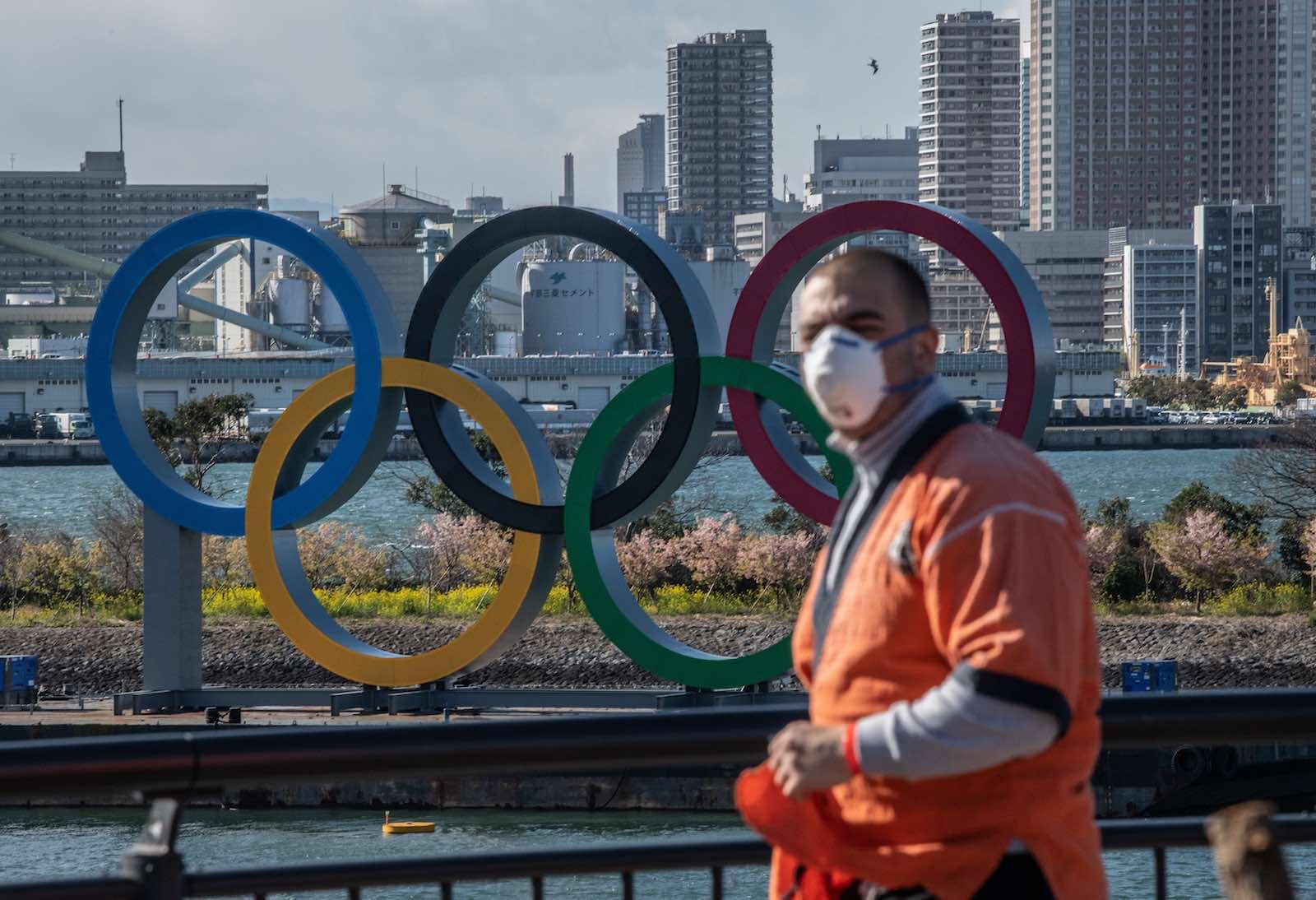 Cerca de 70% dos japoneses acreditam que os Jogos Olímpicos serão adiados