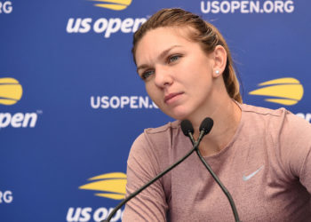 August 24, 2018 - Simona Halep speaks to the press during media day at the 2018 US Open.