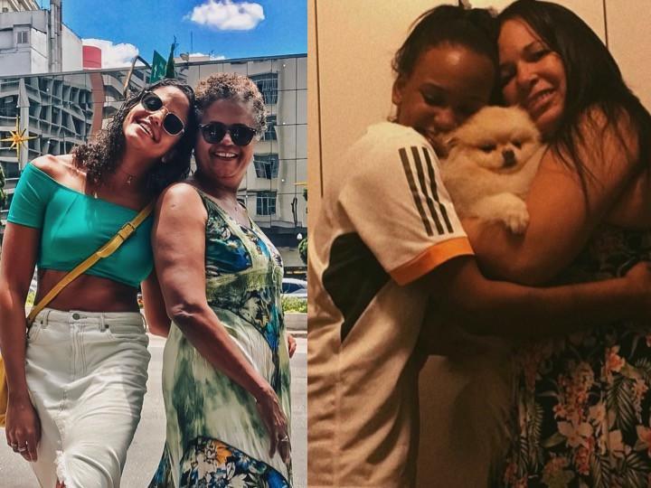 Dia das Mães: Rebeca Andrade e Etiene Medeiros contam o que admiram nas suas mães