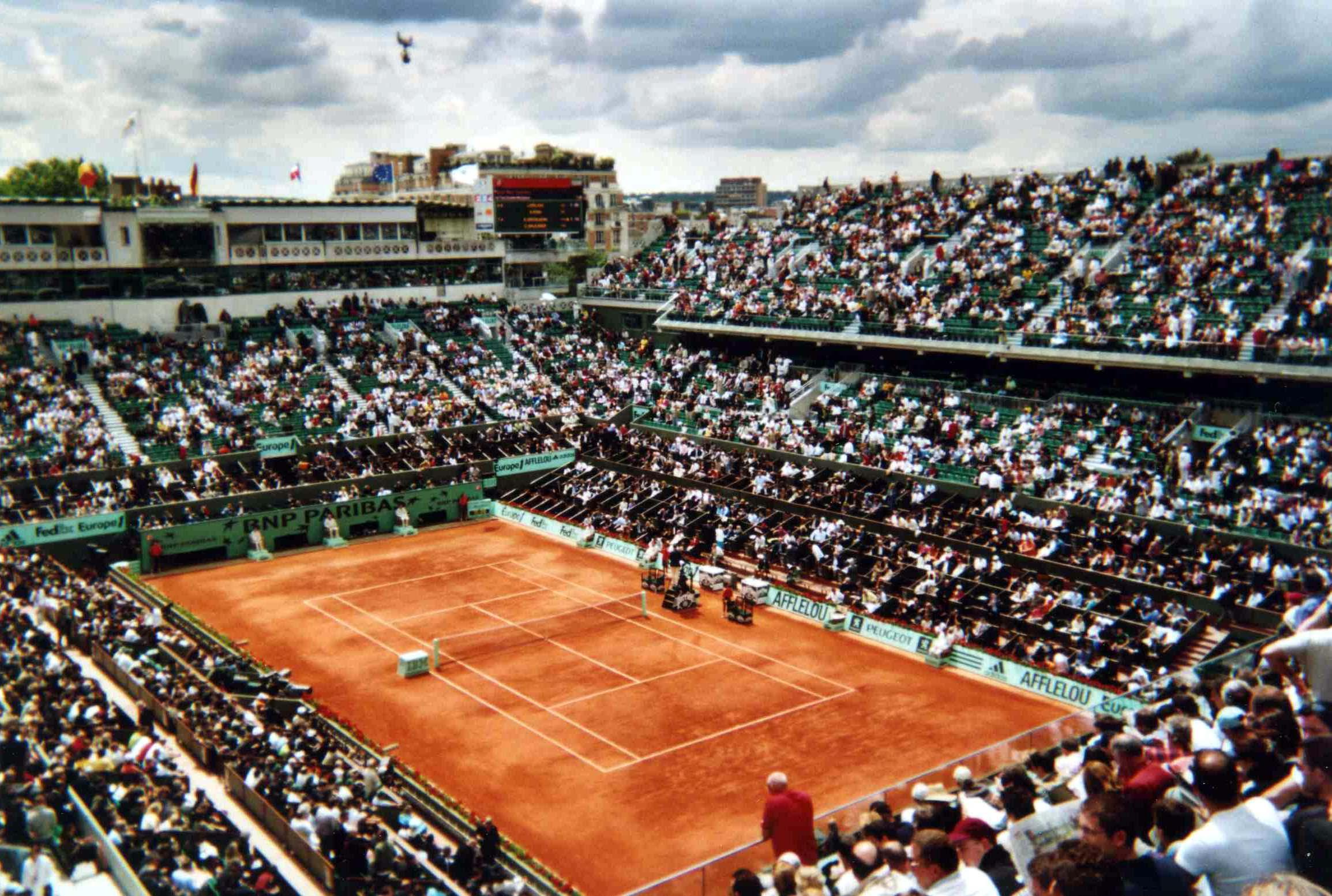 Roland Garros reembolsa ingressos de maio e junho
