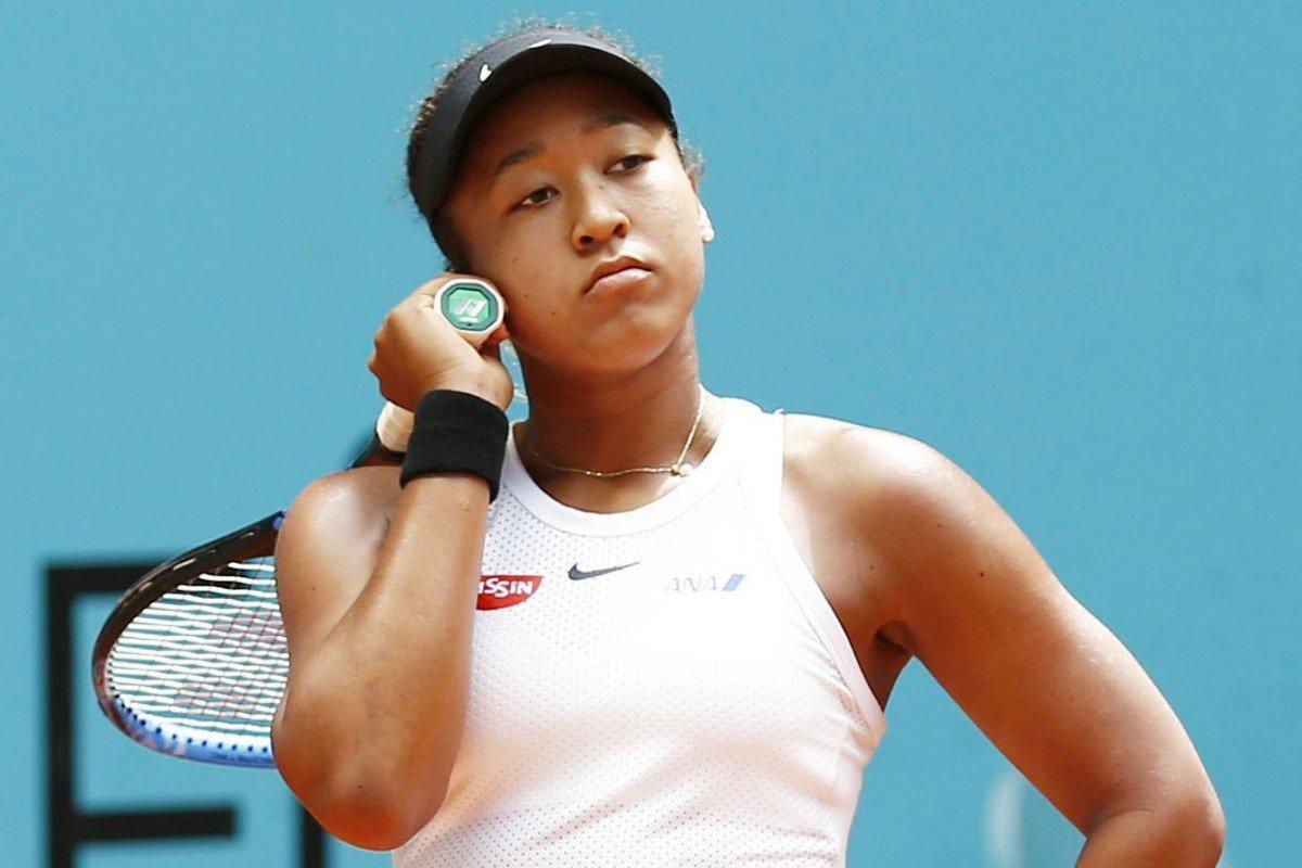 Ex-líder do ranking, Naomi Osaka está ansiosa e preocupada com a retomada do tênis