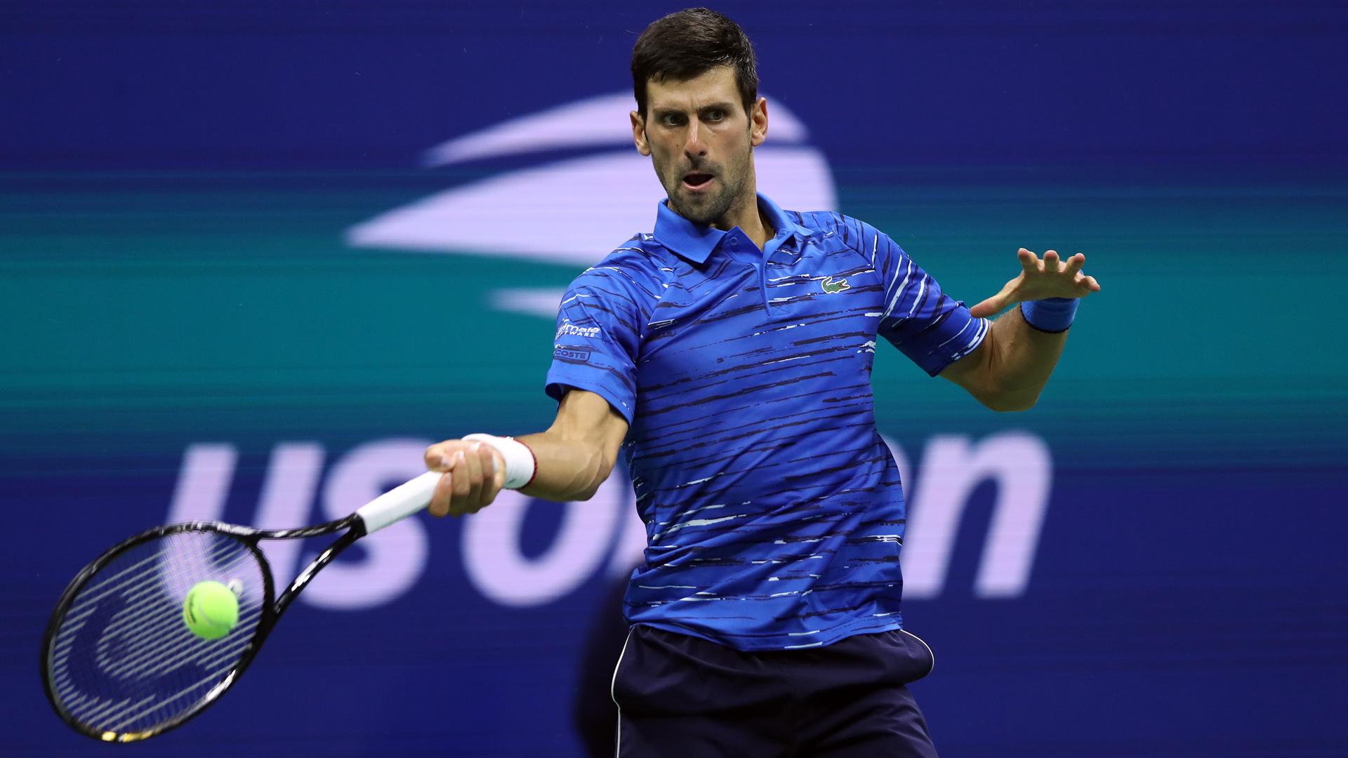 Animado, Djokovic confirma sua presença no US Open