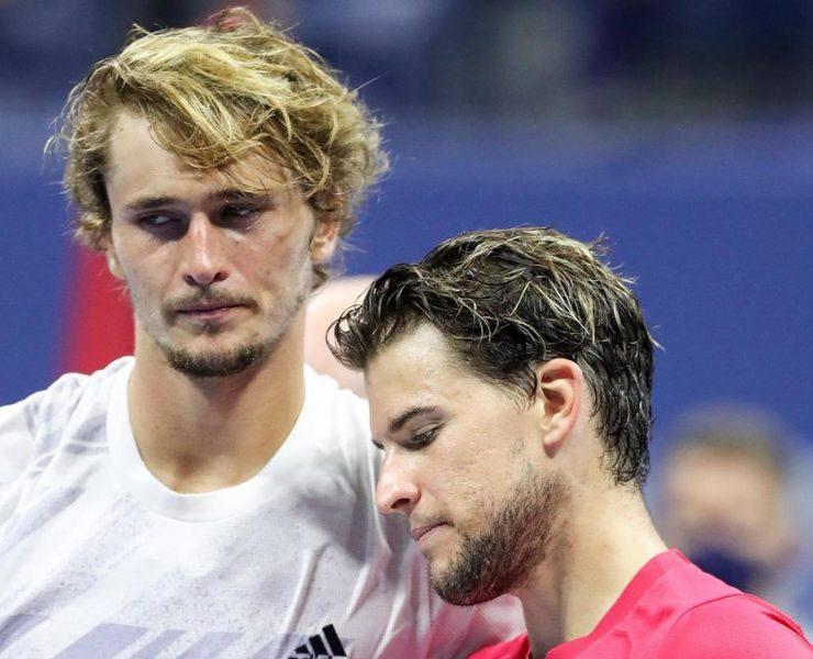 """""""Também estou lutando para me motivar"""", Alexander Zverev expressa seu apoio a Dominic Thiem"""