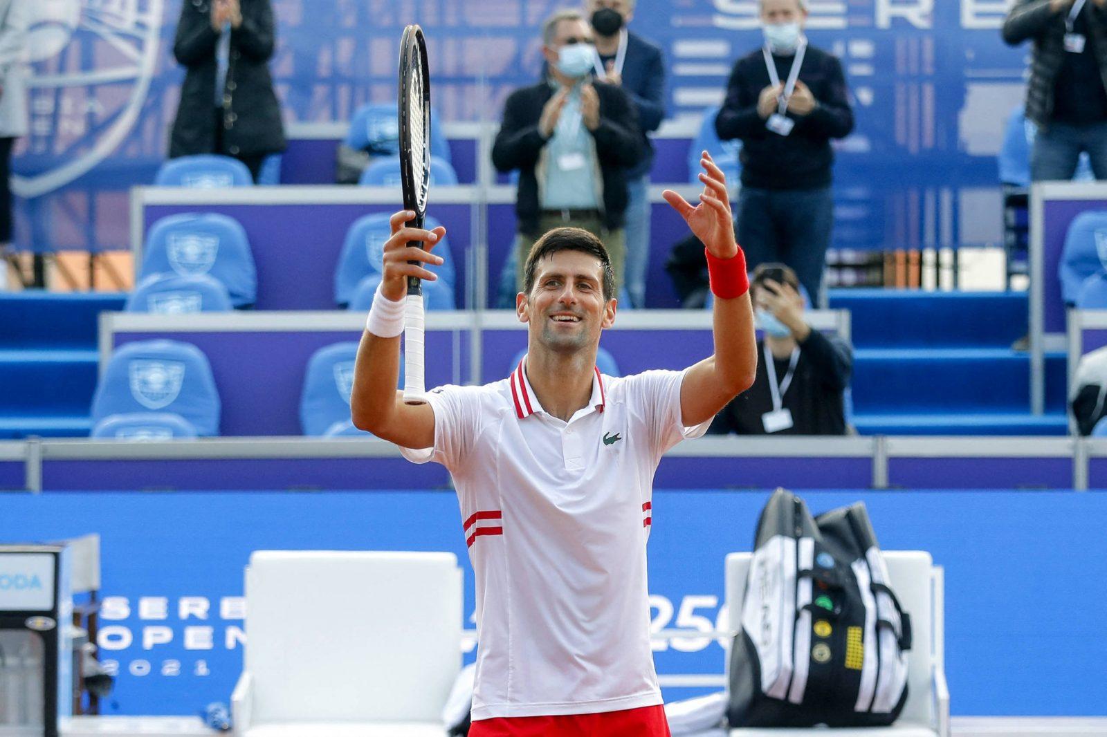 Novak Djokociv ao vivo ATP de BELGRADO