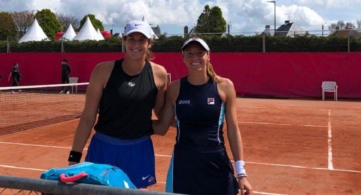 Luísa Stefani e Hayley Carter fazem final no WTA 125 de Saint-Malo