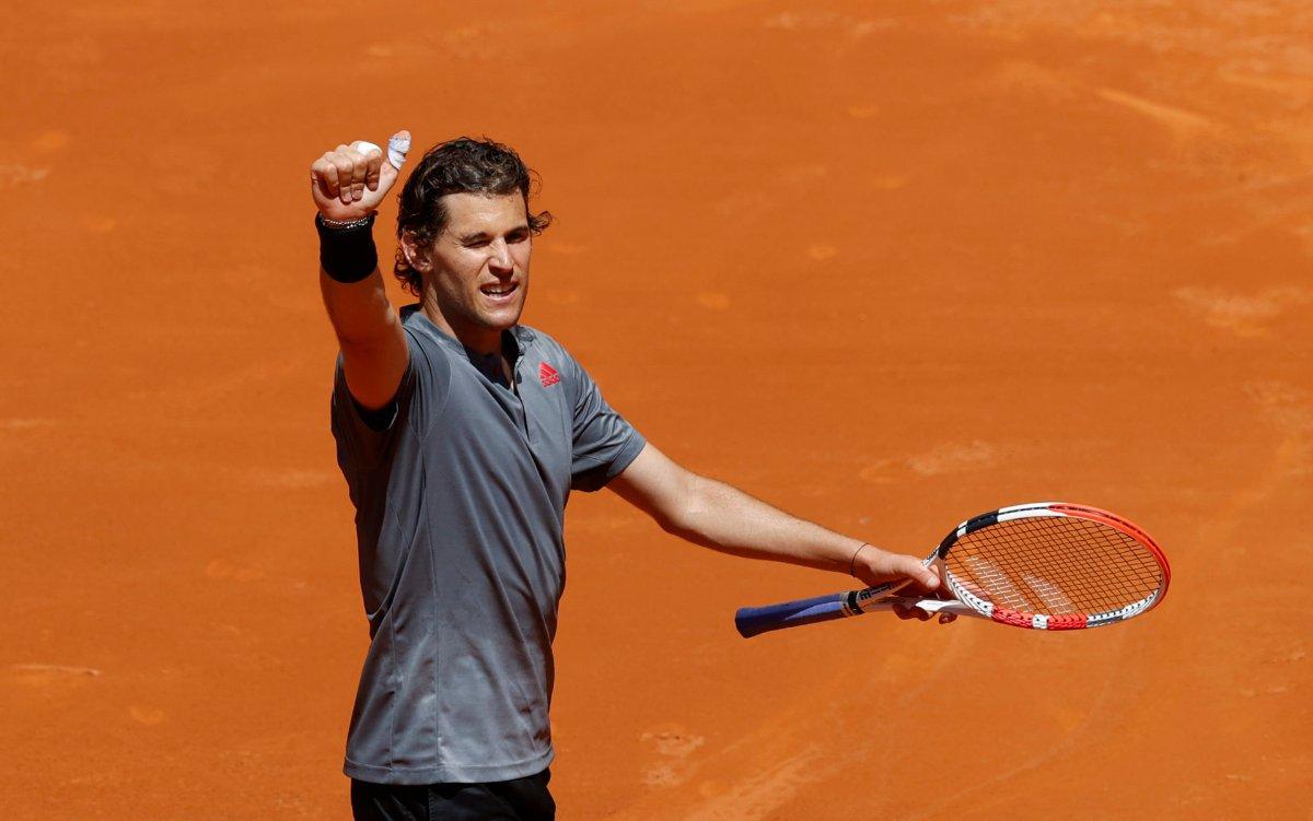 Dominic Thiem vira, derruba John Isner e pode pegar Rafael Nadal na semifinal de Madri