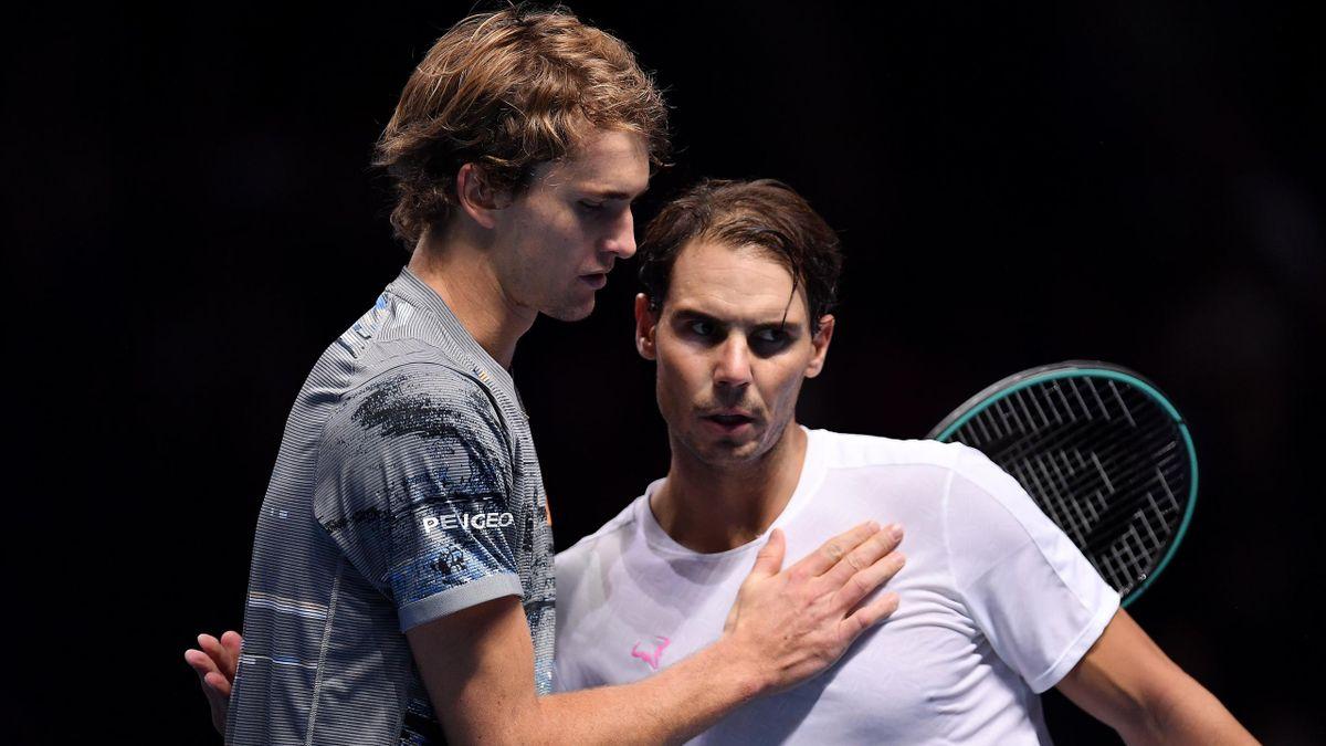 AO VIVO: Rafael Nadal e Alexander Zverev duelam por vaga na semi do Masters de Madri