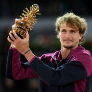 Alexander Zverev já pensa em Roland Garros: 'Estou ansioso'