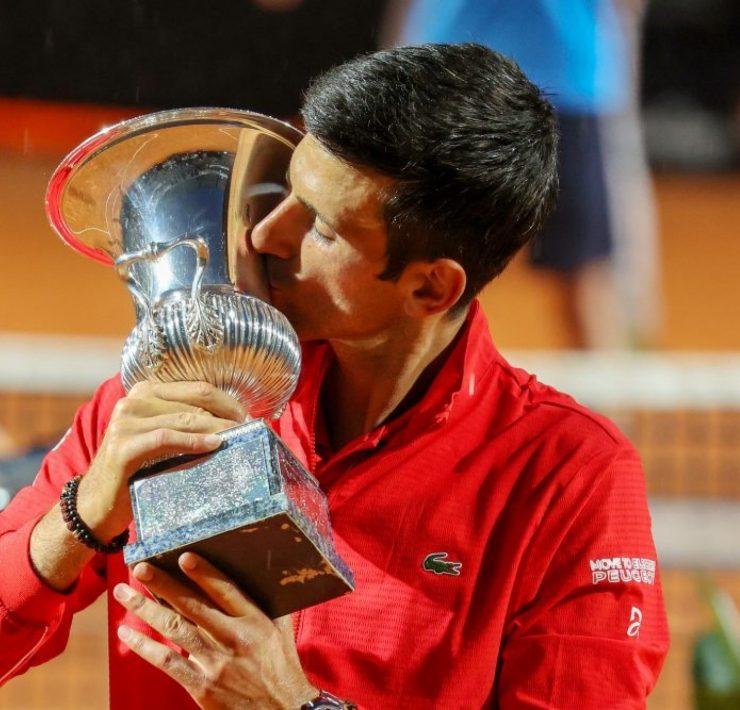 Novak Djokovic conhece adversários no Masters de Roma