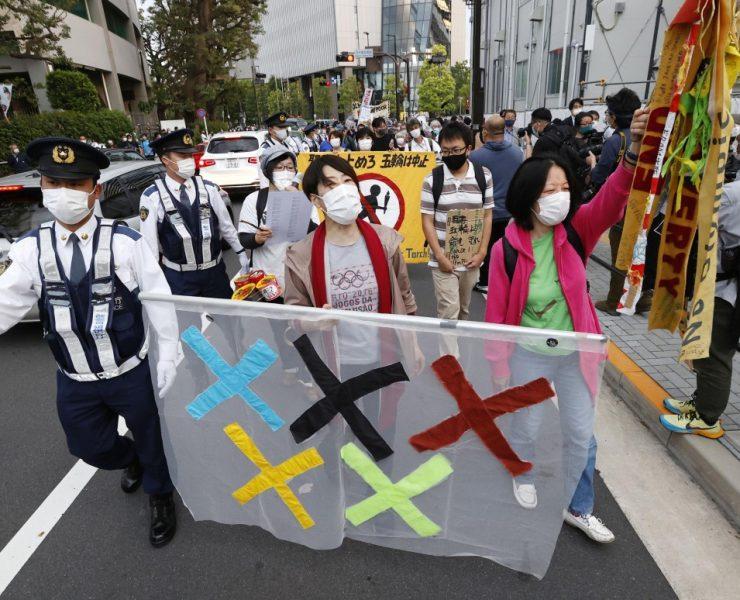 Aproximadamente 60% dos japoneses querem o cancelamento dos Jogos, revela nova pesquisa