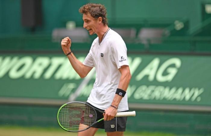 Ugo Humbert derrota Andrey Rublev e conquista 3º ATP