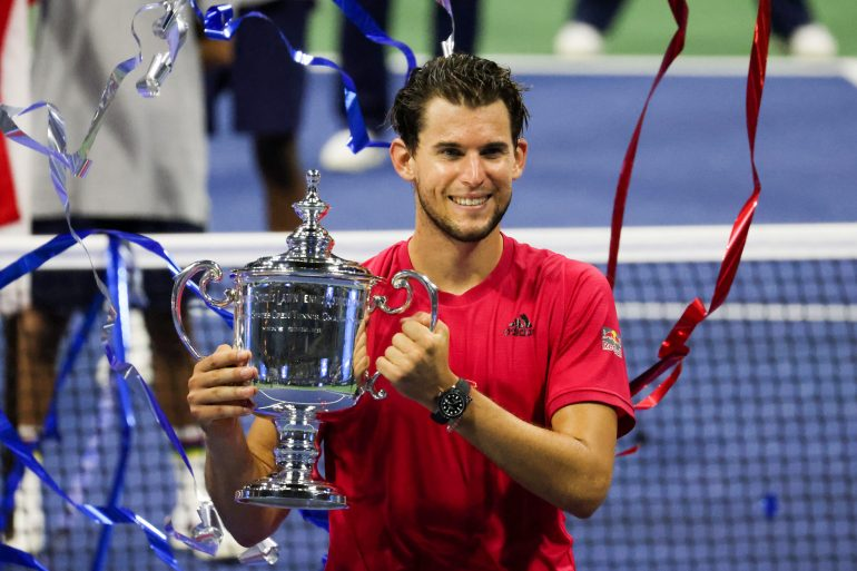 Dominic Thiem diz que Andy Murray estava certo em reclamar da postura de Stefanos Tsitsipas