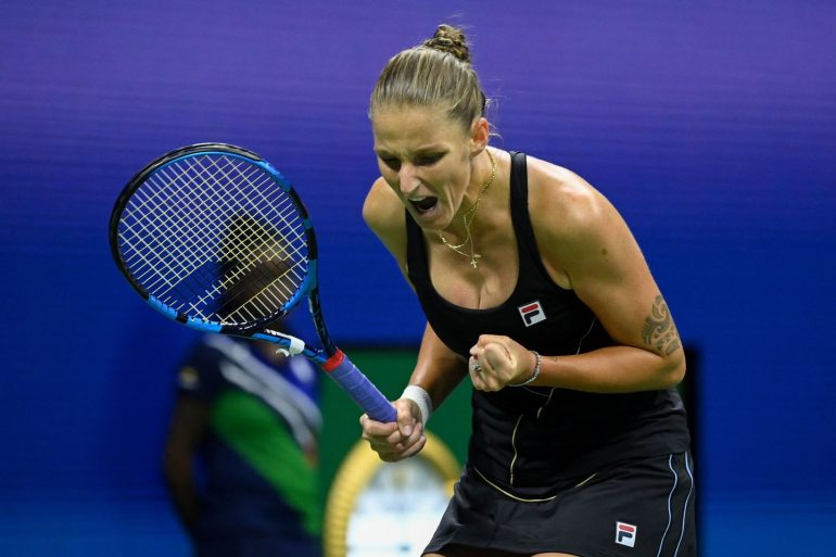 Karolina Pliskova salva match-point, derrota Amanda Anisimova e avança em NY