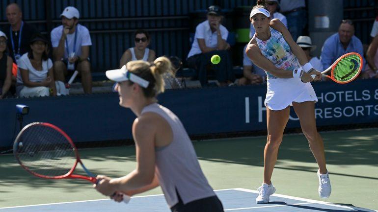 Luisa Stefani e Gabriela Dabrowski vencem e avançam no US Open